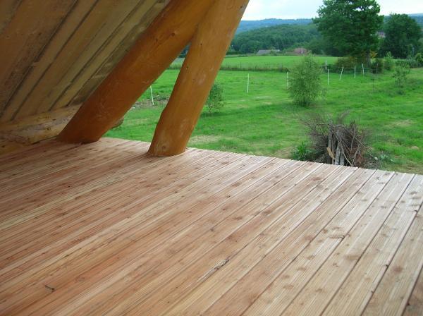 lames de terrasse en m l ze 12 cm merle et fils parquets et terrasses bois en aquitaine. Black Bedroom Furniture Sets. Home Design Ideas