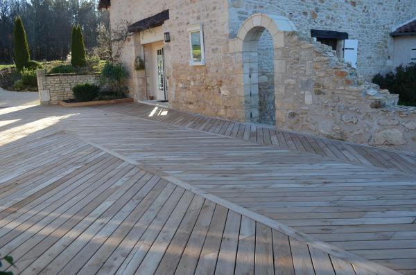 terrasse en acacia - merle et fils, parquets et terrasses bois en